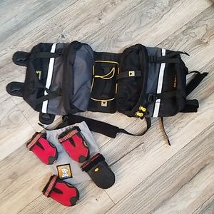 Ruffwear Boots and Mountainsmith Dog Pack